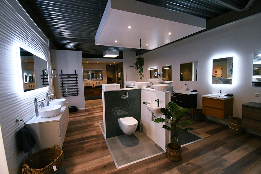 Showroom toiletten